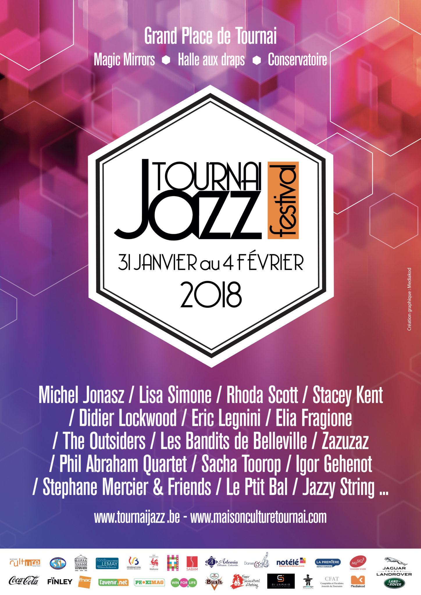 AFFICHE-A3 Tournai Jazz-generale - 2018 - ok.indd